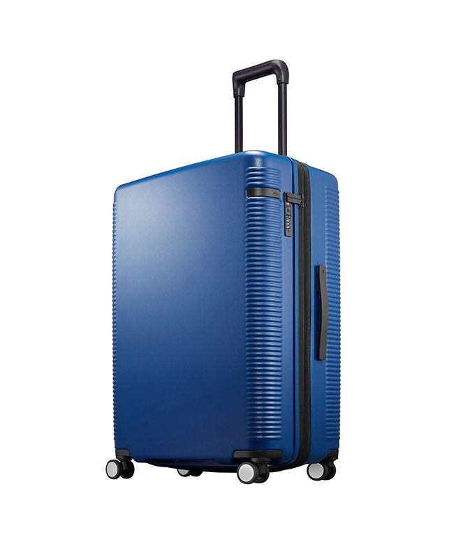 (ace. TOKYO/トーキョーレーベル)エース ウォッシュボードZ スーツケース ストッパー 軽量 大容量 拡張 91~103L Lサイズ ace. TOKYO 04068/ユニセックス ネイビー