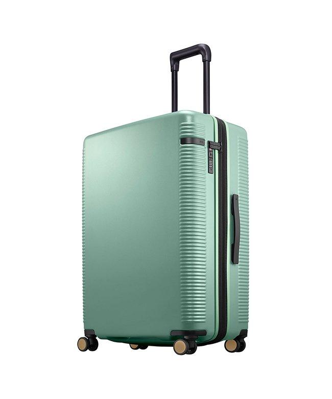 (ace. TOKYO/トーキョーレーベル)エース ウォッシュボードZ スーツケース ストッパー 軽量 大容量 拡張 91~103L Lサイズ ace. TOKYO 04068/ユニセックス グリーン