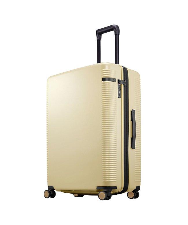 (ace. TOKYO/トーキョーレーベル)エース ウォッシュボードZ スーツケース ストッパー 軽量 大容量 拡張 91~103L Lサイズ ace. TOKYO 04068/ユニセックス イエロー