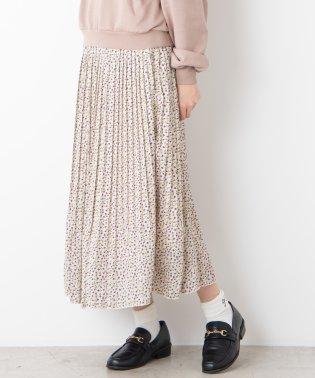 アソートパターンプリーツロングスカート