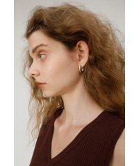 WAVY MINI HOOP EARRING