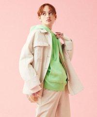 フィブリルグログラン ベルテッドシャツジャケット