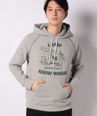 CAMP KNOW WHERE HOODIE STRANGER THINGS C