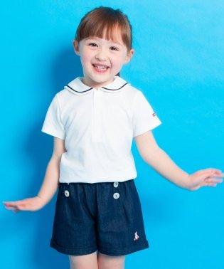 セーラー衿半袖Tシャツ(70cm~100cm)
