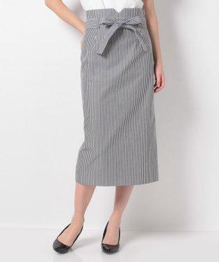 コットンブロードストライプ スカート