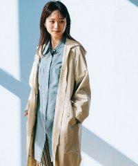 BY∴ シアーポケットワイドシャツ -ウォッシャブル-