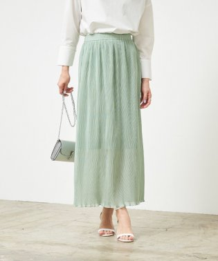 プリーツタイトスカート