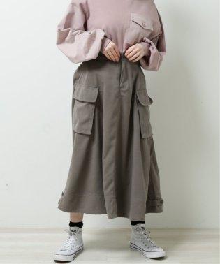 ポケットワークフレアスカート