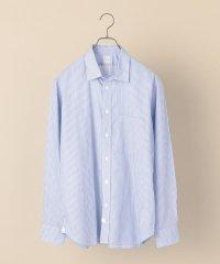 DC: ワイド ストライプ ライトブルー シャツ