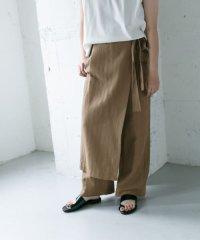 WEB限定 ラップスカートパンツ