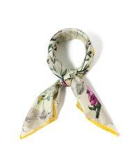 manipuri / FLOWR BOOK シルクスカーフ
