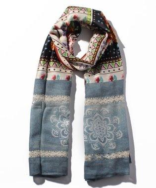 スカーフ TIE DYE BOHO
