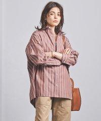 <TICCA(ティッカ)>ストライプ ビッグシャツ