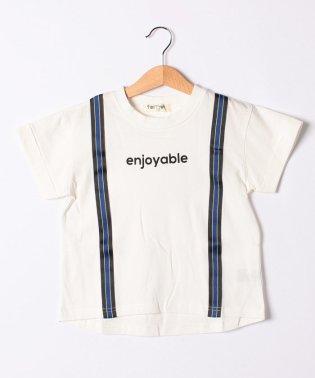 サスペンダー風Tシャツ