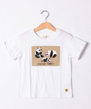 パンダ親子Tシャツ
