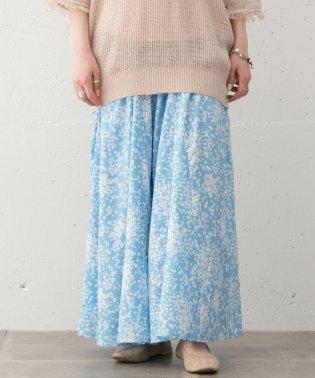 【WAREHOUSE】小花柄スカート