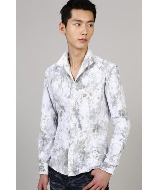 TORNADO MART∴朧クロコダイルフロッキープリントシャツ