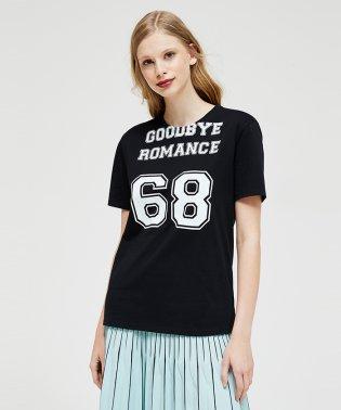 コットン型押しオーバーサイズ半袖Tシャツ・カットソー