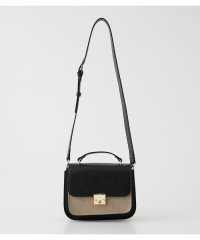 COLOR CONTRAST SHOULDER BAG