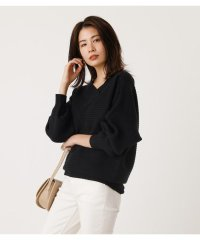 2WAY RIB SWITCH KNIT TOPS
