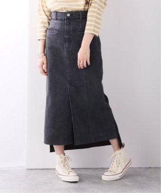 【RITO/リト】TWO FABRIC COMBINATED SKIRT:デニムスカート
