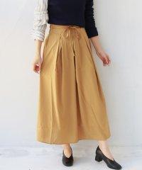 2wayカラーフレアスカート