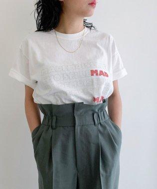 【designe par Emily Marant】MADEMOISELLEロゴTシャツ