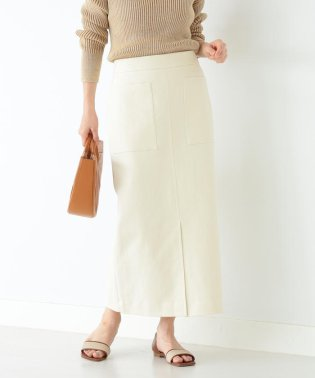 Demi-Luxe BEAMS / ポケット付き タイトスカート