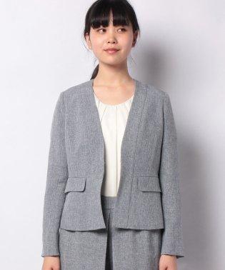 【セットアップ対応商品】ノーカラージャケット