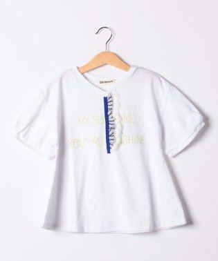 フリル付きTシャツ