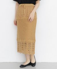 【KBF】ニットレーススカート