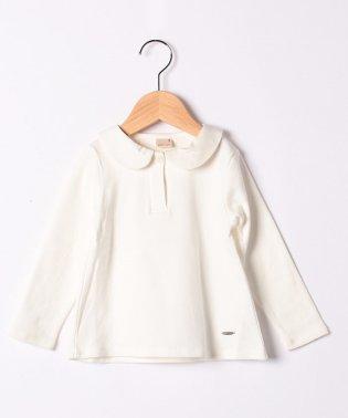 丸衿つきTシャツ