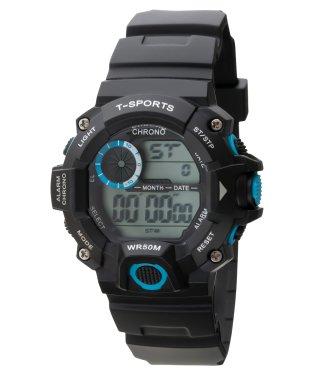 T-SPORTS ティースポーツ デジタルソーラーウオッチ 腕時計【TS-D156】