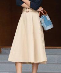 Aラインセミフレアスカート