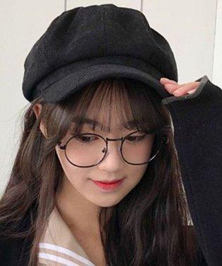 ハンチング キャスケット 帽子 キャップ レディース 男女兼用 ユニセックス 無地 シンプル カジュアル オシャレ