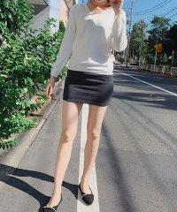 ミニスカート タイトスカート 裏起毛スカート レディース ショート丈 無地 暖かい