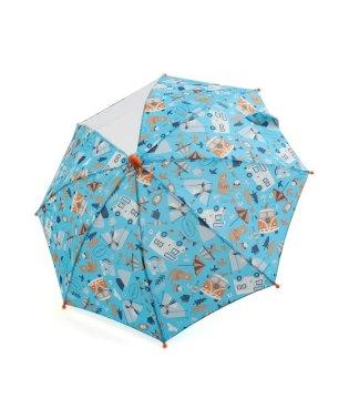 キャンプ柄傘