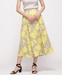 大花フレアスカート