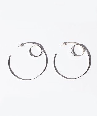 【ROSSO】CIRCLESCROLLEARRINGS