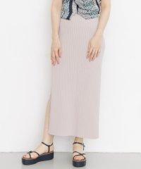 【KBF】KBF+ラップニットタイトスカート