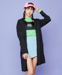 ロゴロングカーデ+長袖Tシャツセット