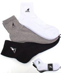 KANGOL(カンゴール)靴下3足セット!アンクル&クオーターソックス