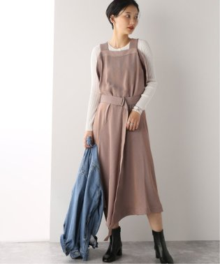 【RITO/リト】SALOPETTE DRESS WITH BELT:サロペット