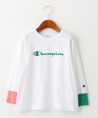 ◆【キッズ】〔別注〕CHAMPION(チャンピオン)マルチリブ ロングスリーブTシャツ