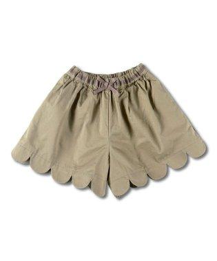 裾スカラップキュロット(90~150cm)