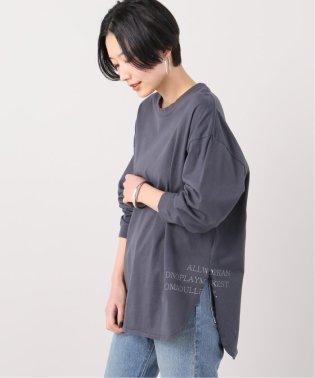 PRINT ロンTシャツ