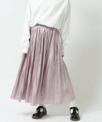 ラメチュール×オーロラサテンスカート