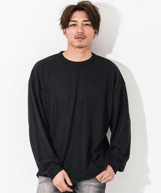 CavariA【キャバリア】クルーネック長袖サカリバ Tシャツ