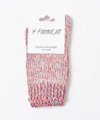 【H FOOTWEAR】MIXメランジソックス
