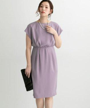 【予約】バックスリットドレス